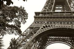 Rocznik wieża eifla Paryż, Francja obrazy royalty free
