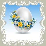 Rocznik Wielkanocna karta royalty ilustracja
