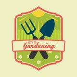 Rocznik wiosny lub pozwalamy iść uprawiać ogródek Obrazy Royalty Free
