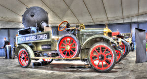 Rocznik wojny światowa 1 Angielski wojskowy przewozi samochodem Fotografia Royalty Free