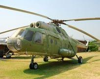 rocznik wojskowego helikoptera zdjęcie royalty free