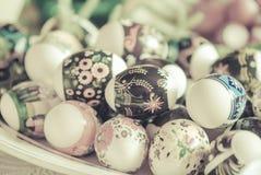 Roczników Wielkanocni jajka Zdjęcia Royalty Free