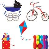Rocznik zabawki Obrazy Royalty Free