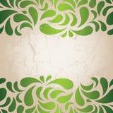 rocznik zielona tapeta Zdjęcia Stock