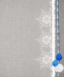 Rocznik zimy tła Zdjęcia Stock