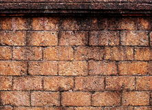 Rocznika ściana z cegieł Zdjęcie Royalty Free