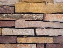 Rocznika ściana z cegieł stara tekstura Fotografia Royalty Free