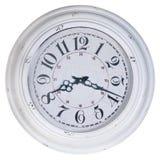 Rocznika ścienny zegar obraz stock