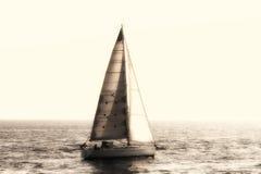 Rocznika żeglowania łódź Fotografia Royalty Free