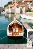 Rocznika żeglowania łódź Obrazy Royalty Free