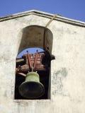 Rocznika żelazny kościelny dzwon Zdjęcie Stock