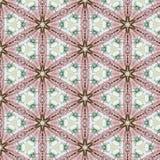 Rocznika abstrakcjonistyczny bezszwowy wzór, tekstylny projekt fotografia royalty free