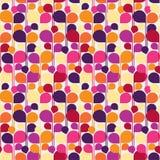Rocznika abstrakcjonistyczny bezszwowy wzór wektor Zdjęcie Royalty Free