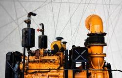 Rocznika abstrakta linii maszynowy parowozowy tło Obraz Stock