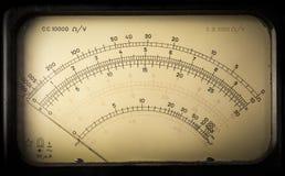 Rocznika analogowy elektryczny metr Obrazy Stock