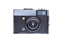 Rocznika analogu filmu kamery odosobniony tło Fotografia Stock