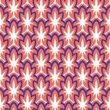 Rocznika art deco ręka rysujący wzór Fotografia Royalty Free
