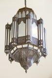 Rocznika art deco stropuje lampę Obraz Stock
