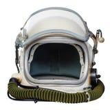 Rocznika astronautyczny hełm obraz royalty free