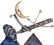 Rocznika astronom ilustracji