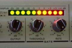 Rocznika audio melanżer Obraz Stock
