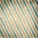 Rocznika błękitna przekątna paskujący papierowy tło Zdjęcie Stock