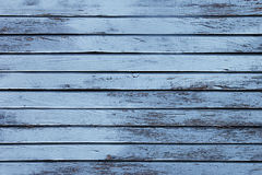 Rocznika błękitny drewniany tło stare mieszkanie weathersa struktura wzór Zdjęcie Stock
