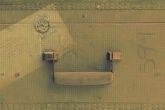 Rocznika bagażu tło Fotografia Royalty Free