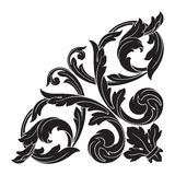 Rocznika baroku ramy rytownictwa ślimacznicy ornament Fotografia Stock
