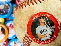 Rocznika baseballa szpilki fotografia stock