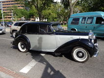 Rocznika Bentley samochód Obrazy Royalty Free