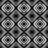 Rocznika bezszwowy wzór z oczyszczonymi liniami Obrazy Stock