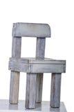 rocznika biały krzesło bardzo stary Obrazy Royalty Free