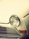 Rocznika biały samochód Zdjęcia Royalty Free