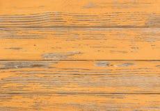 Rocznika brąz barwił drewno powierzchnię z obraną farbą obraz royalty free