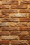 Rocznika brązu ściana z cegieł krakingowa tekstura zdjęcie royalty free