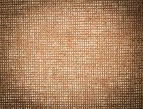 Rocznika brezentowy tło textured Fotografia Royalty Free