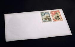 Rocznika Brytyjski znaczek Obrazy Stock