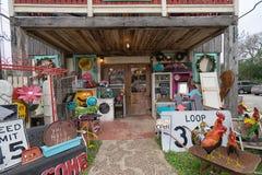 Rocznika butika sklepu przód w Gruene Teksas Obraz Stock