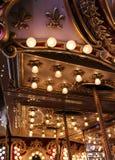 Rocznika Carousel szczegół Fotografia Royalty Free