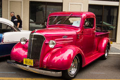Rocznika Chevrolet furgonetka Fotografia Royalty Free