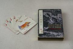 Rocznika chińczyka karta do gry Obrazy Stock