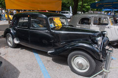 Rocznika Citroen samochód Obraz Royalty Free