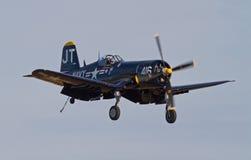 Rocznika Corsair myśliwiec Zdjęcia Royalty Free
