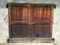 Rocznika craftsmanship i drzwi obraz stock