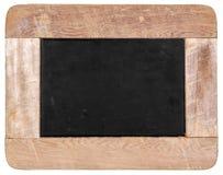 Rocznika czerni kredowa deska   zdjęcie stock