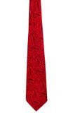 Rocznika czerwony krawat Zdjęcie Royalty Free