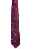 Rocznika czerwony krawat Zdjęcia Stock