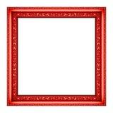 Rocznika czerwony obrazek Obraz Royalty Free
