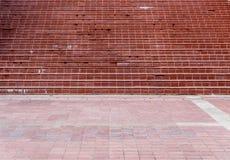 Rocznika dachówkowy schodek Fotografia Stock